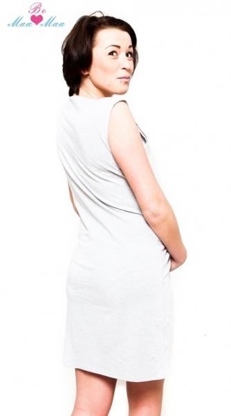 Be MaaMaa Těhotenská, kojící noční košile Iris