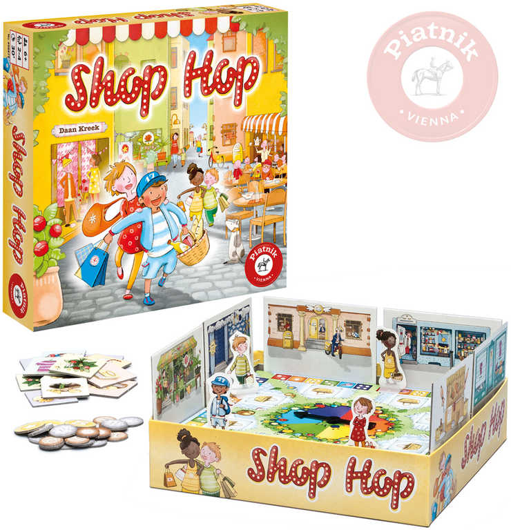 PIATNIK Hra Shop Hop *SPOLEČENSKÉ HRY*
