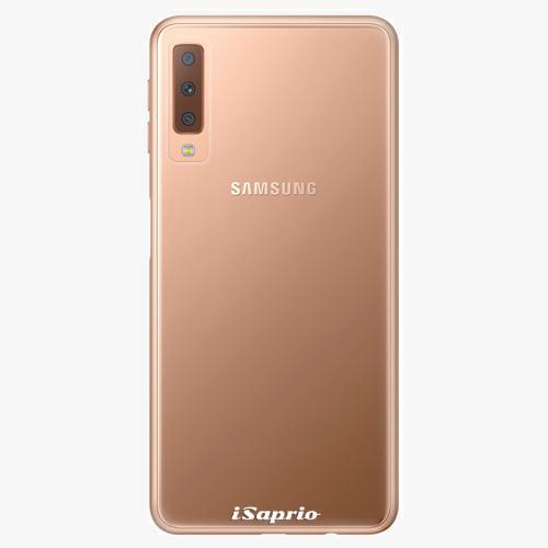 Plastový kryt iSaprio - 4Pure - průhledný matný - Samsung Galaxy A7 (2018)