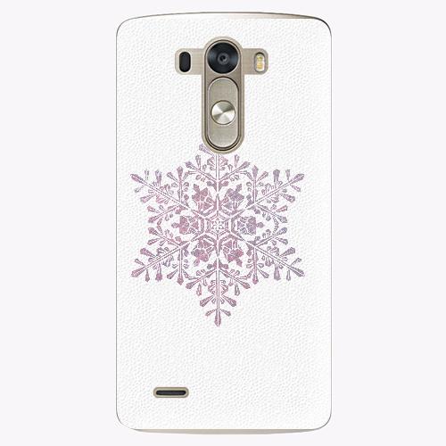 Plastový kryt iSaprio - Snow Flake - LG G3 (D855)
