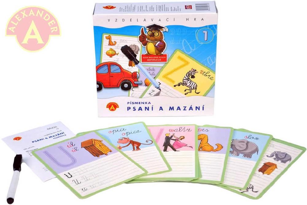 ALEXANDER Hra Psaní a mazání didaktické hry