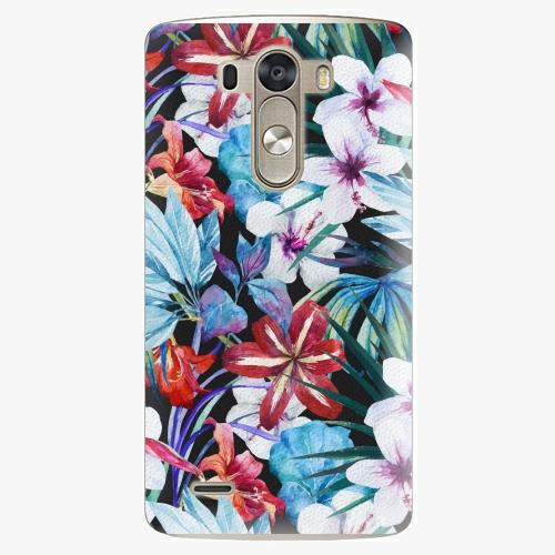 Plastový kryt iSaprio - Tropical Flowers 05 - LG G3 (D855)