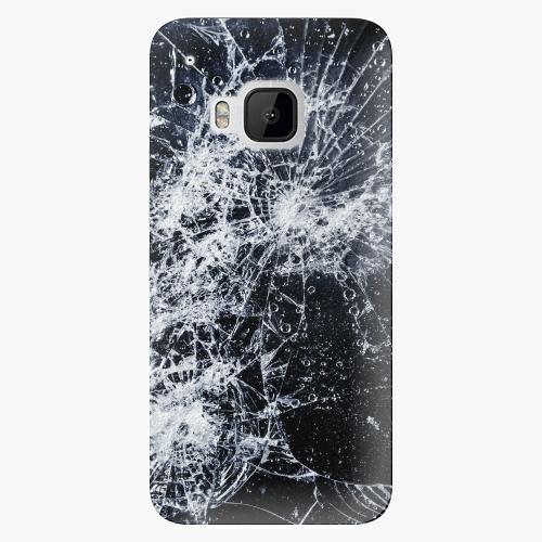 Plastový kryt iSaprio - Cracked - HTC One M9