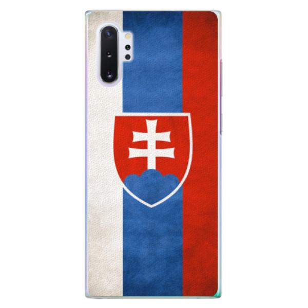 Plastové pouzdro iSaprio - Slovakia Flag - Samsung Galaxy Note 10+