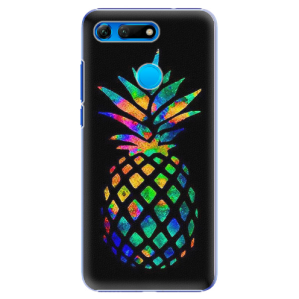 Plastové pouzdro iSaprio - Rainbow Pineapple - Huawei Honor View 20