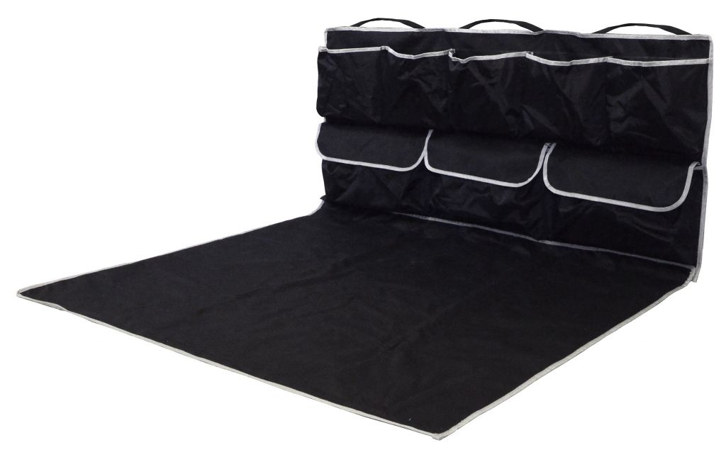 Ochranná deka do kufru s kapsami - 110 x 100 x 50 cm