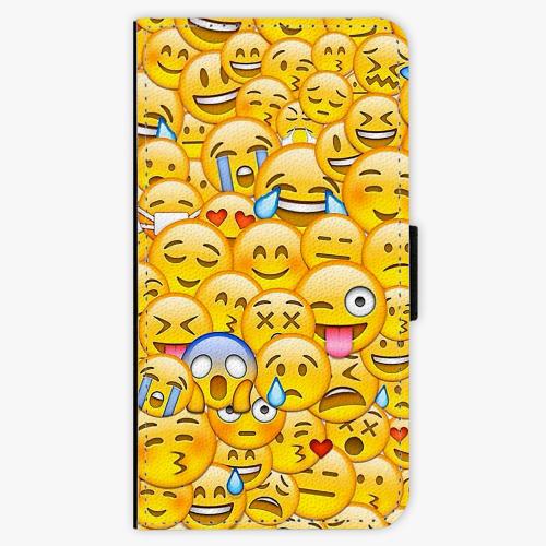 Flipové pouzdro iSaprio - Emoji - Samsung Galaxy J3 2017