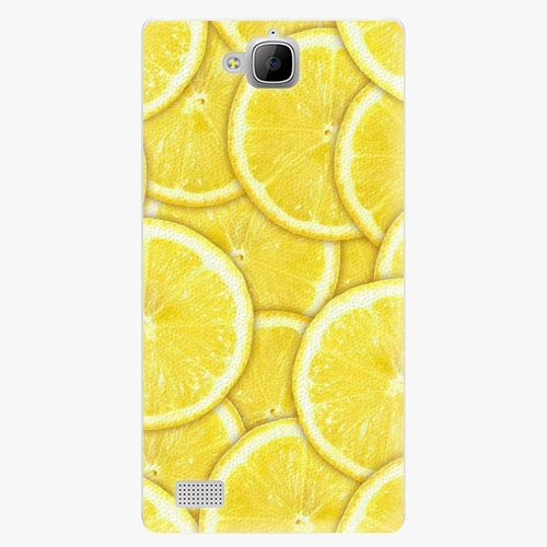 Plastový kryt iSaprio - Yellow - Huawei Honor 3C