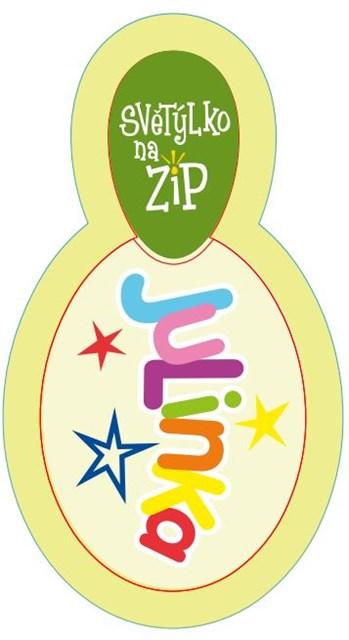ALBI Světýlko na zip - Julinka