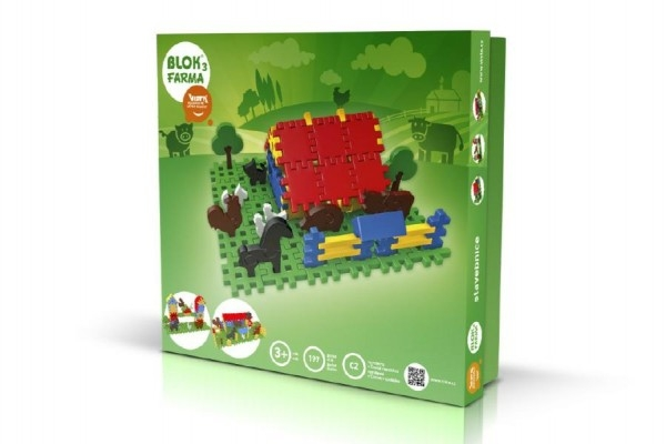 stavebnice-blok-3-farma-plast-197ks-v-krabici-35x33x8cm
