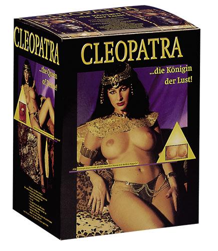 Černovlasá nafukovací panna Cleopatra