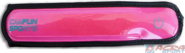 ACRA Pásek na ruku 2 barvy + LEDsvětlo