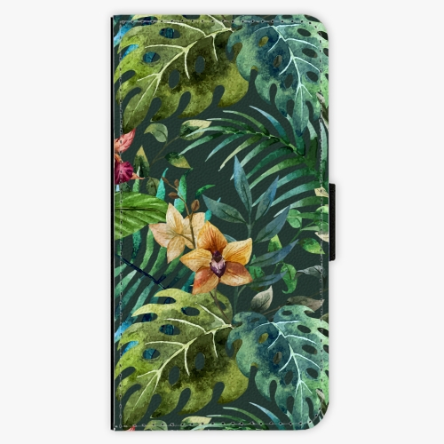Flipové pouzdro iSaprio - Tropical Green 02 - Huawei Honor 10