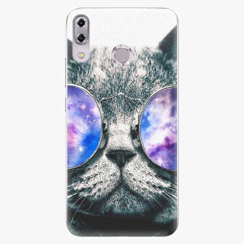 Plastový kryt iSaprio - Galaxy Cat - Asus ZenFone 5Z ZS620KL