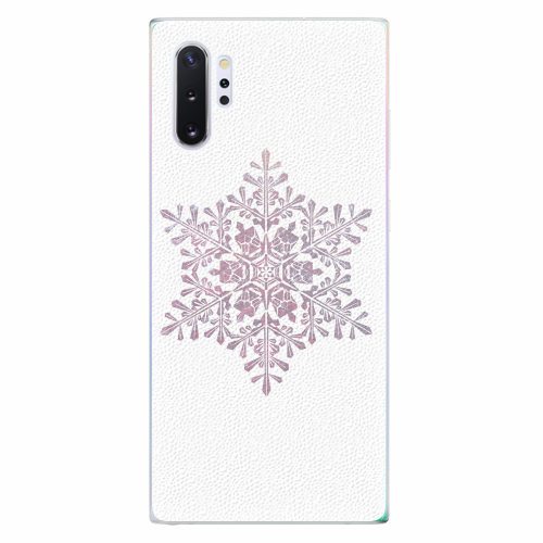Silikonové pouzdro iSaprio - Snow Flake - Samsung Galaxy Note 10+