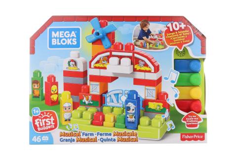 Mega Bloks Hudební farma GCT50