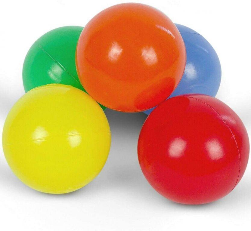 Pestrobarevné míčky, dětské, 500 ks