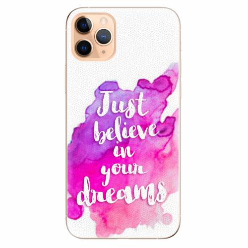 Silikonové pouzdro iSaprio - Believe - iPhone 11 Pro Max