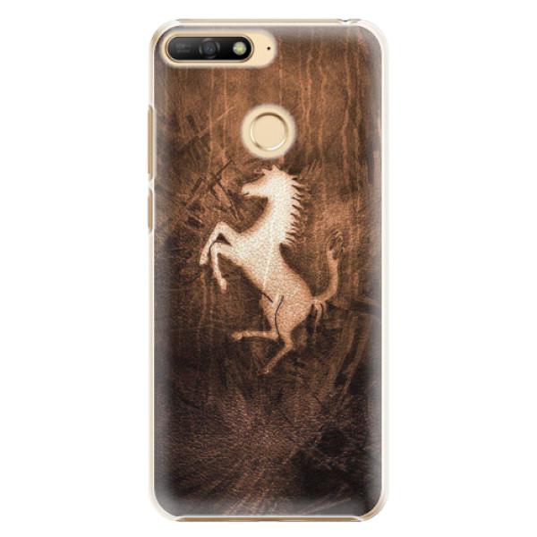 Plastové pouzdro iSaprio - Vintage Horse - Huawei Y6 Prime 2018