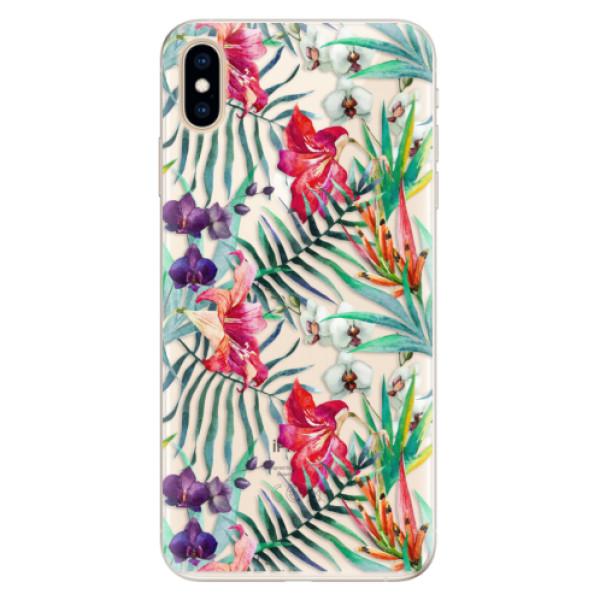 Silikonové pouzdro iSaprio - Flower Pattern 03 - iPhone XS Max