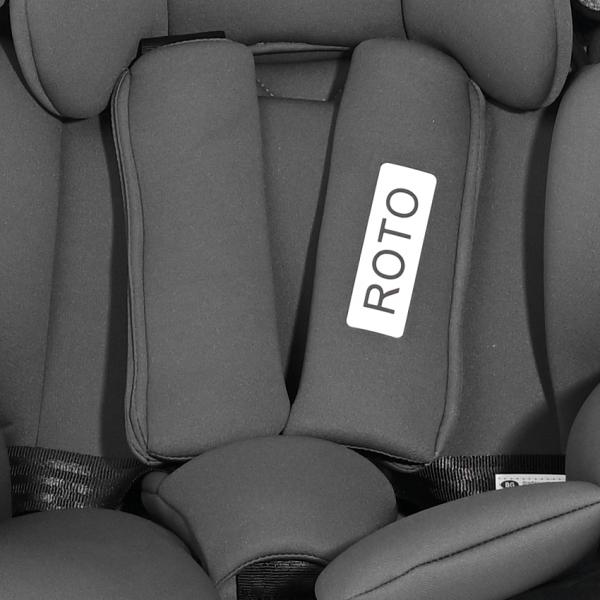 Autosedačka Lorelli ROTO ISOFIX 0-36 KG BLACK&RED