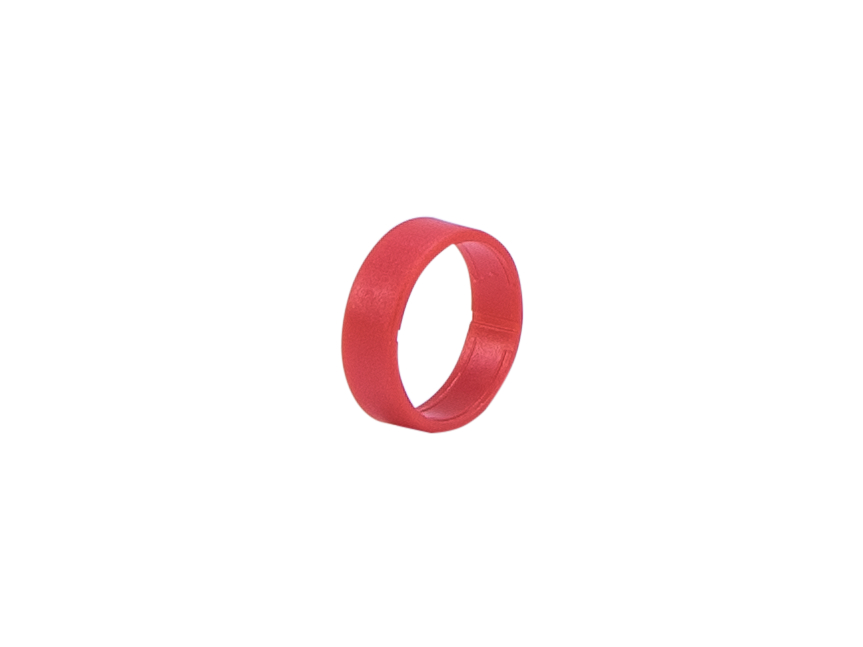 Hicon HI-XC marking ring for Hicon XLR straight red