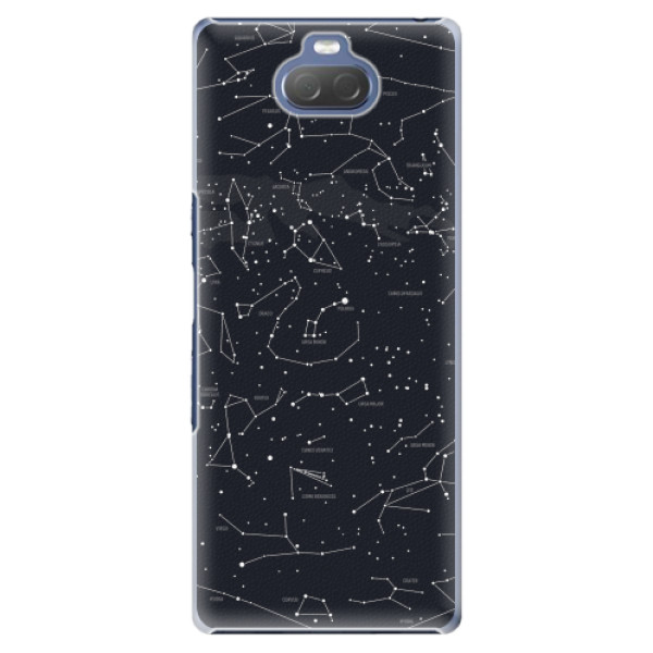 Plastové pouzdro iSaprio - Night Sky 01 - Sony Xperia 10