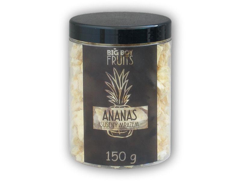 Ananas plátky lyofilizované 150g