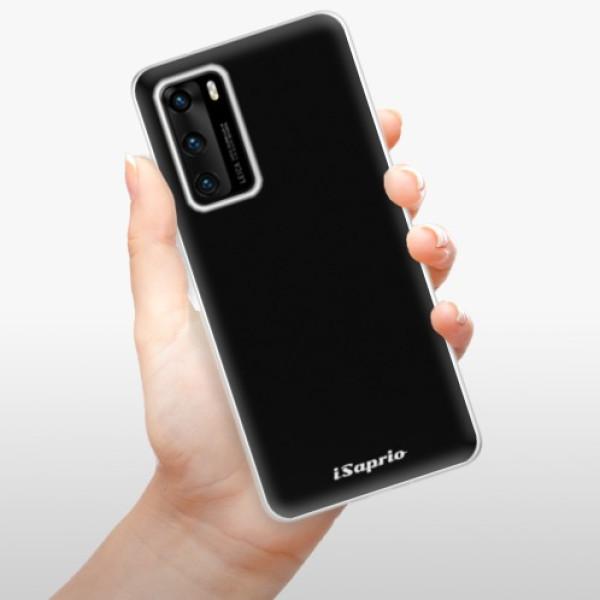Odolné silikonové pouzdro iSaprio - 4Pure - černý - Huawei P40
