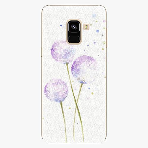 Plastový kryt iSaprio - Dandelion - Samsung Galaxy A8 2018
