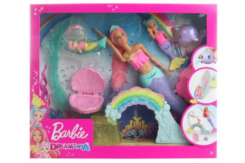 Barbie Dreamtopia herní set s mořskou vílou FXT25
