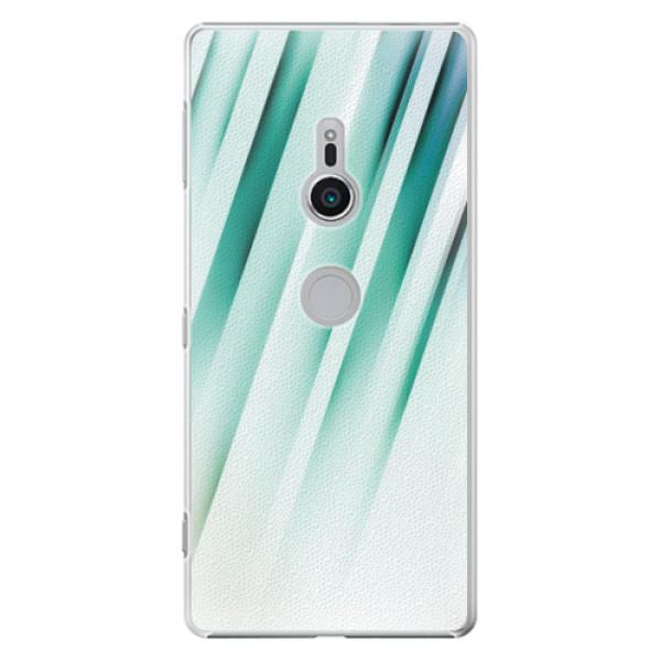 Plastové pouzdro iSaprio - Stripes of Glass - Sony Xperia XZ2