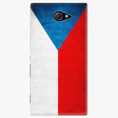 Plastový kryt iSaprio - Czech Flag - Sony Xperia M2