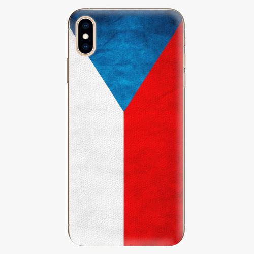 Plastový kryt iSaprio - Czech Flag - iPhone XS Max