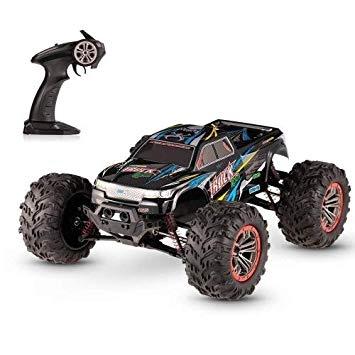 MonsterTruck 1:10, 2 motory, 46km/h+ voděodolné