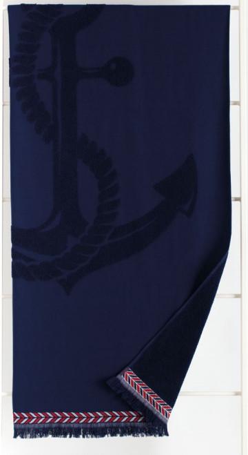 Plážový ručník AE000306 Noidinotte - Tm.modrá/90x170