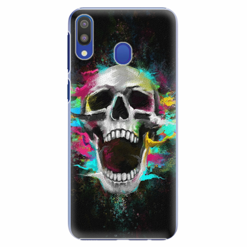 Plastový kryt iSaprio - Skull in Colors - Samsung Galaxy M20