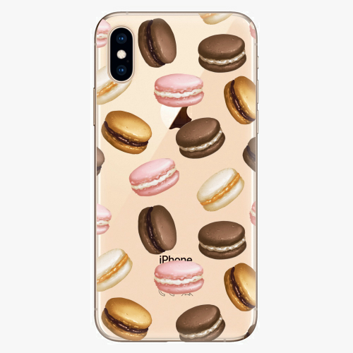 Silikonové pouzdro iSaprio - Macaron Pattern - iPhone XS