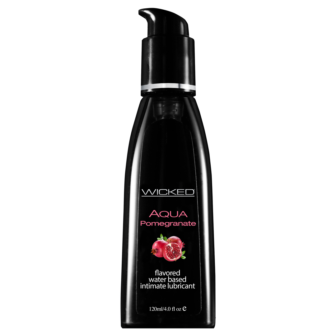 Lubrikant WICKED Aqua - Pomegranate - 4oz