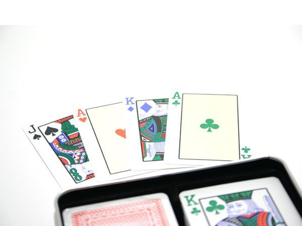 Poker karty Copag Jarní edice, 100% plast, čtyřbarevné
