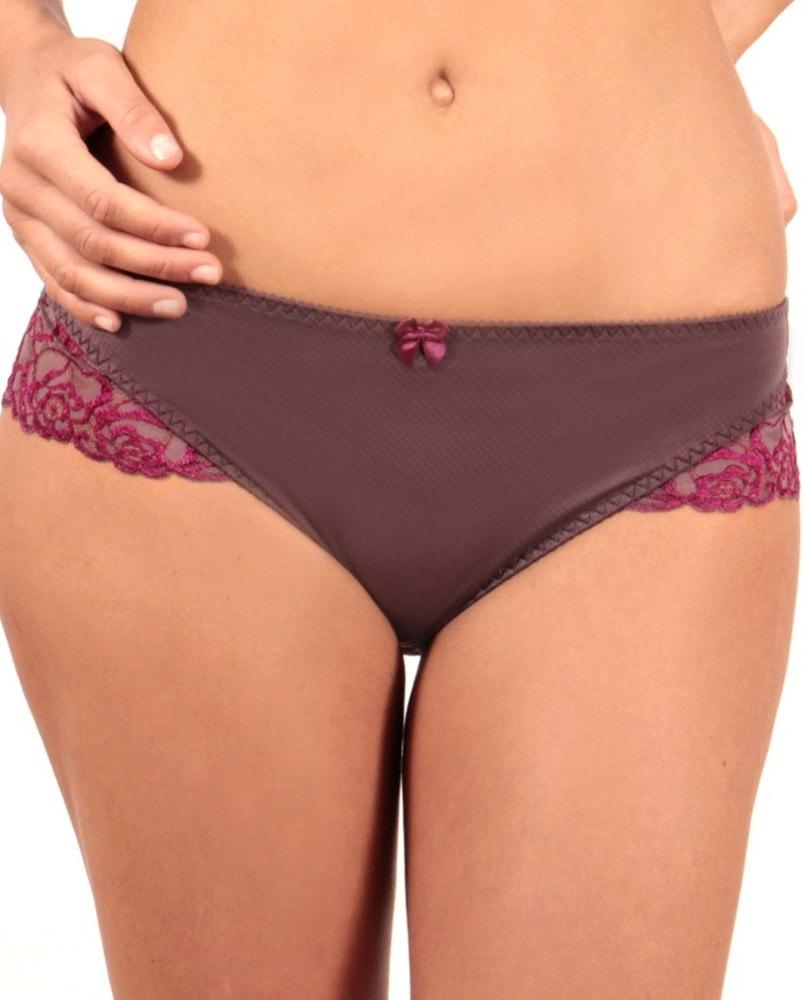 Klasické dámské kalhotky CHANGE Florence antracitové - 40