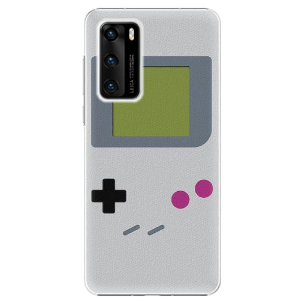 Plastové pouzdro iSaprio - The Game - Huawei P40