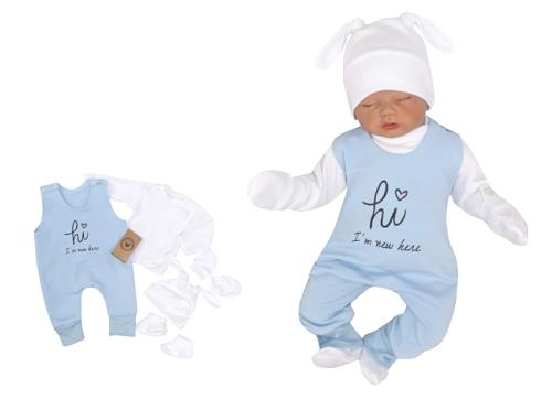 Z&Z 5-dílná kojenecká soupravička Hi I´m new here