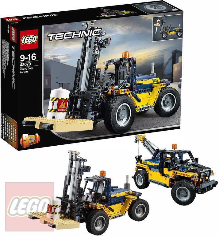 LEGO TECHNIC Výkonný vysokozdvižný vozík 42079 STAVEBNICE