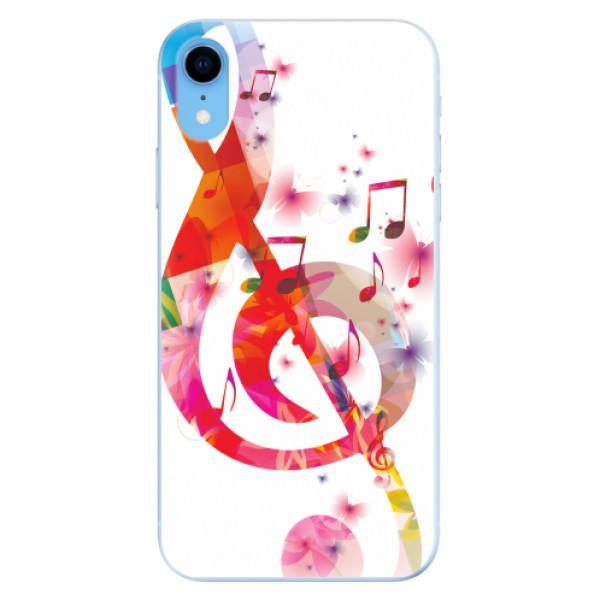 Odolné silikonové pouzdro iSaprio - Love Music - iPhone XR