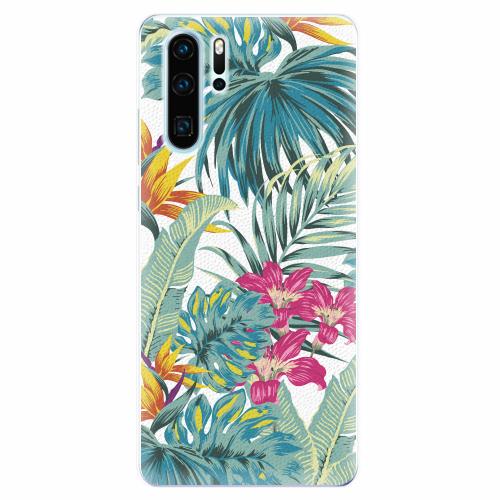 Silikonové pouzdro iSaprio - Tropical White 03 - Huawei P30 Pro