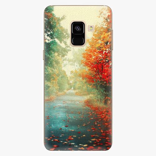 Plastový kryt iSaprio - Autumn 03 - Samsung Galaxy A8 2018