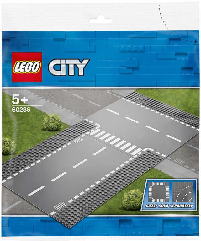 LEGO CITY Rovná cesta s křižovatkou 60236 STAVEBNICE
