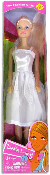 Panenka Lucy modelka 29 cm 3 barvy 6 druhů