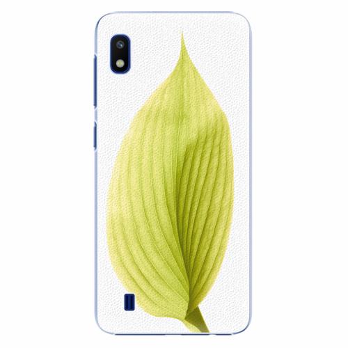 Plastový kryt iSaprio - Green Leaf - Samsung Galaxy A10